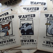 Wanted posters..available from www.souledoutstudios.com