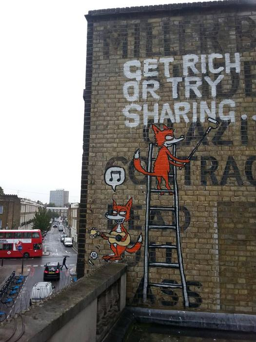 Get Rich or Try Sharing - Camden Town