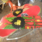 Mau Mau original 3rd foot boards